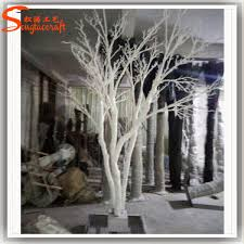 Hot Sale Fake Tree Artificial White Birch Trees autumn tree for home