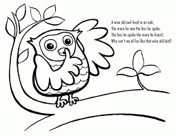 Small Picture Cute Owl Coloring Pages To Print Coloring Home