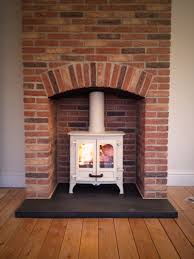 Brick Fireplaces For Stoves: Creative Brick Fireplaces For Stoves Home  Design Very Nice Amazing Simple