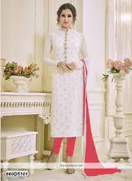 Buy Bedazzling Cream Coloured Georgette Party Wear Salwar