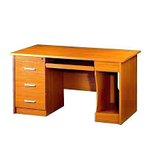 small wooden desks with drawers dark wood desk color computer table for distressed black