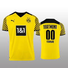 May 20, 2021 · fc bayern and adidas launched the new away jersey kit for the 2021/22 season today. Men S 00 Custom Borussia Dortmund 2021 22 Yellow Jersey Sportyzenjersey On Artfire