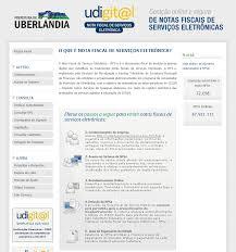 Prefeitura viabiliza cadastro on-line para emissão da Nota Fiscal  Eletrônica - Portal da Prefeitura de Uberlândia