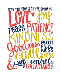the young s in christ fellowship fruit of the holy spirit gentleness and self control