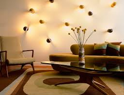 modern wall sconces living room living room midcentury with elson company custom rug rex ray