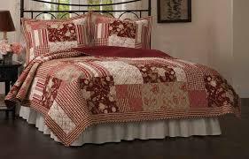 Red Quilted bedspread in Queen or King quilt & Red Quilted bedspread in Queen or King - red alert set Adamdwight.com