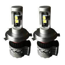 H4 9003 Hb2 Hi Lo 8g V 2 12000lm 72w Philips Cree Led Headlight Kit Cooling Fan And External Led Driver 6v Drl Compatible