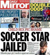NI paper review: Jailed footballer and a 'prevented attack' - BBC News