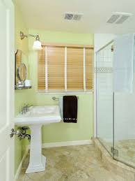 green paint colors for bathroom. inspiration for a timeless bathroom remodel in san francisco with pedestal sink and green walls paint colors