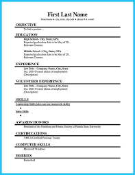 First Job Resume Impressive Resume For Students First Job
