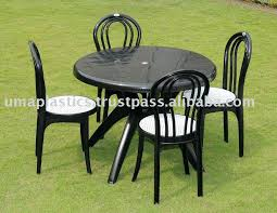 plastic outdoor chairs green