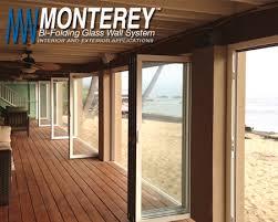 crl monterey series bi folding sliding door system