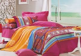 Yoste Twin XL forter Set Girls Multicolored Dorm Room Bedding