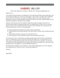 Best Pharmacist Cover Letter Examples Livecareer