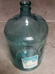 vintage rare 1960s 5 gallon glass water jug bottle yosemite waters
