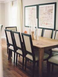 formal yet fortable dining room see more natural wood table with neutral black chairs