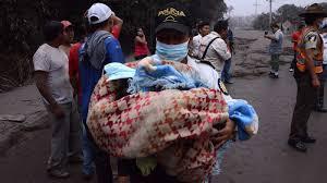 Resultado de imagen para erupcion volcan guatemala 2018