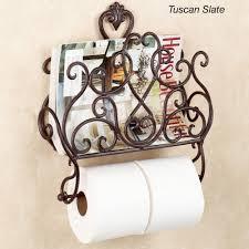Toilet Paper Holder With Magazine Rack Aldabella Wall Magazine Rack With Toilet Paper Holder 11