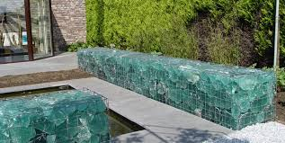 gabion wall slag glass maureen gilmer morongo valley ca