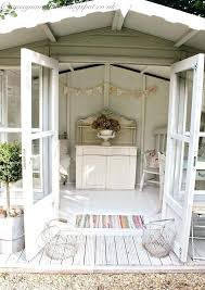 finishing a shed interior cream dream love this almost like my summerhouse just a few more finishing a shed interior
