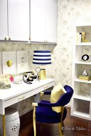 home office decorating ideas pinterest. Home And Fabulous. Blue Office DecorOffice Home Decorating Ideas Pinterest
