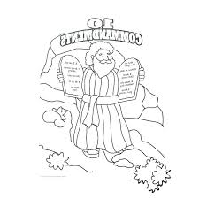 Ten Commandments Coloring Pages Special Offer Free Printable Ten