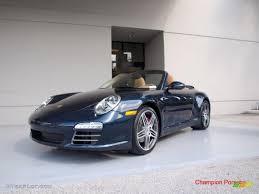 2010 Dark Blue Metallic Porsche 911 Carrera 4S Cabriolet #26832001 ...