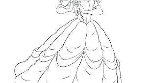 Disney Princess Printable Coloring Pages Free Printable Princess