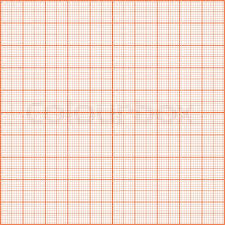 Red Print Texture Graph Paper Stock Vector Colourbox