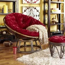 papasan chair living room furniture rattan outdoor papasan chair with ottoman and area rug on correct