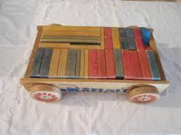 holgate toys wagon with blocks