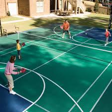 sport court cost. Delighful Sport Backyard Courts Home Gyms Sport Court Of Central Throughout Cost