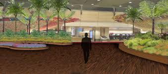 indoor garden design for changi airport terminal 2 5