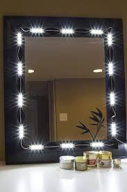 Image Vanity Lights Makeup Mirror White Led Light Package Premium Series Led Updates Vanity Mirror Led Light Package Led Updates