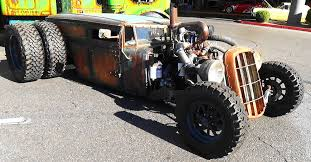 welderup train car dually rat rod sema 2015 youtube