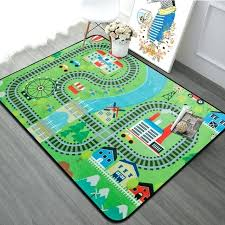 play rug with roads extra large baby playing crawling mat for bedroom kids play mat kids play rug with