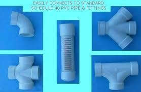 4 perforated pipe corrugated inch drain plastic drainage pi
