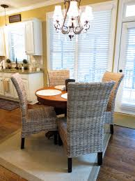 kitchen table rugs decorating with round gl wrought