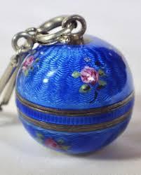 guilloche enamel bucherer ball watch necklace to expand