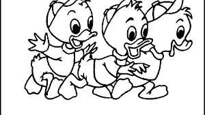 Fresh Cartoon Characters Coloring Pages Easy E 20769