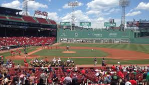 Fenway Park Pearl Jam 2018 Seating Chart Best Seats For Great Views Of The Field At Fenway Park