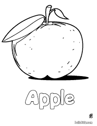 Coloring Pages Apple Coloring Page Source 3jc Fruit Pages
