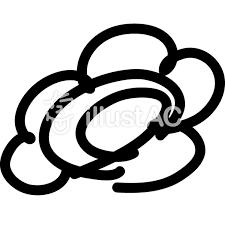 花丸アイコン黒イラスト No 297178無料イラストならイラストac