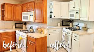 how i transformed my kitchen under 100 outdated oak to bright white