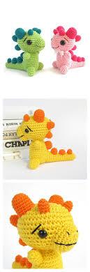 Free Crochet Dinosaur Pattern Delectable Crochet Amigurumi Dinosaur Free Patterns