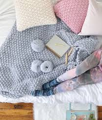 Chunky Knit Blanket Pattern New FREE Chunky Knit Blanket Pattern Knit A Blanket In A Weekend Easy