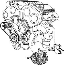 hyundai tucson questions how do i replace my alternator in my temporary alternator fix at Alternator Location Diagram