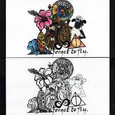 Tetování Lapač Snů Kreslený