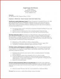 Lovely Recruiter Resume Personel Profile Marine Corpsles Infantry