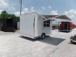details about white 8 5x12 concession event catering trailer